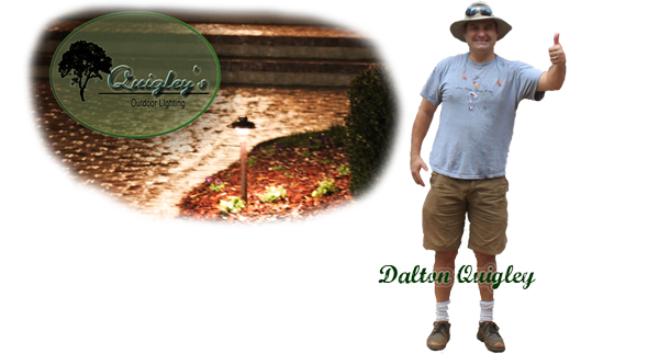 Landscape Lighting Image with Dalton Quigley - Nashville Outdoor Lighting Services